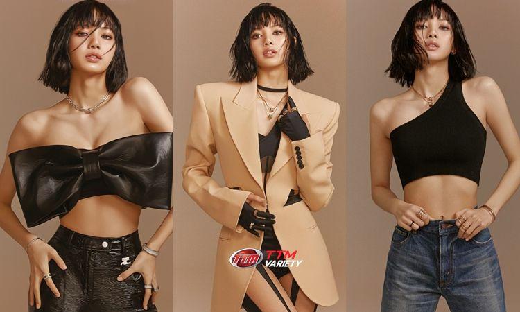 """ความโป๊ะเป็นศูนย์ 10 ภาพแบบสวยสับ! เมื่อ """"ลิซ่า"""" ขึ้นปกนิตยสาร Vogue Hong Kong"""