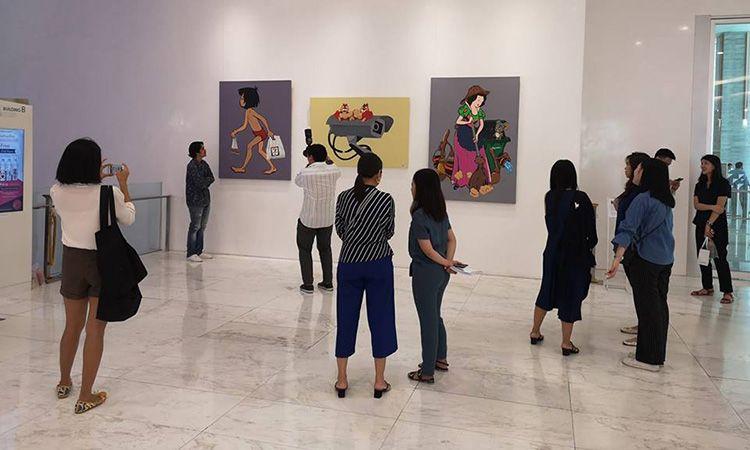 ชม Bangkok Disney ผลงานศิลปะแนวเสียดสีสังคมผ่านตัวการ์ตูนคลาสสิค