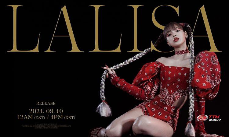เตรียมไฟลุก! ลิซ่า ปักวัน เตรียมเดบิวต์โซโล่ LALISA 10 กันยายนนี้ มาแน่ทั่วโลก