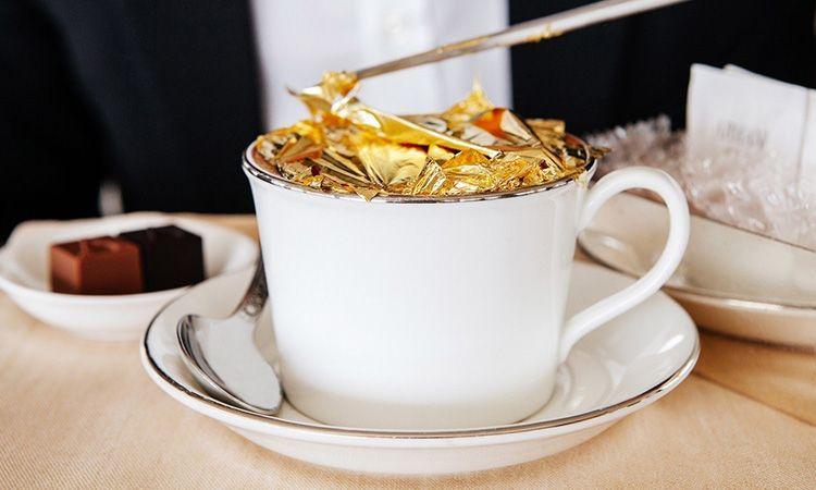 Gold Cappuccino อะไรก็หรูเมื่ออยู่ดูไบ!