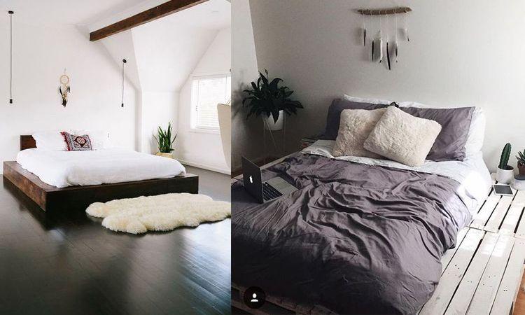20 แบบเตียงไม้สวยๆ แข็งแรงคงทน เปลี่ยนห้องนอนให้ดูอบอุ่นด้วยงานไม้