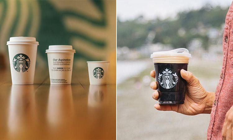 """""""สตาร์บัคส์"""" เตรียมใช้ถ้วยกาแฟรีไซเคิล ยกเลิกการใช้หลอดพลาสติก ภายในปี 2020"""