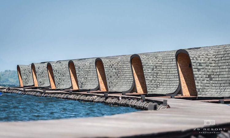 Z9 Resort ที่พักน้องใหม่ดีไซน์เก๋ ริมทะเลสาบเขื่อนศรีนครินทร์ จ.กาญจนบุรี