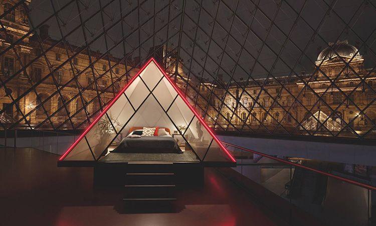 Airbnb ให้คุณลุ้นเป็น 1 ผู้โชคดี ไปค้างคืนในพิพิธภัณฑ์ลูฟวร์