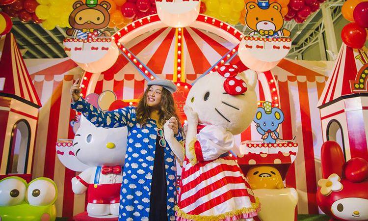 เที่ยวสวนสนุกสุดคิวท์ Hello Kitty Go Around!! Bangkok