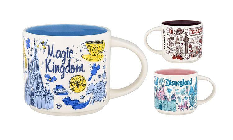 Starbucks x Disney ซื้อแก้ว จิบกาแฟ ฟินไปกับ Mug ลายดิสนีย์ทั้ง 6 แห่งในอเมริกา