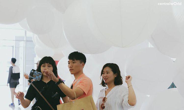 ชมผลงาน Gongkan x centralwOrld แชะภาพสุดชิค อัพลงโซเชียล