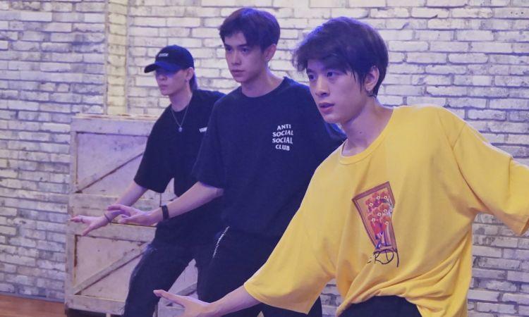 เตรียมเดบิวต์! เติร์ด-ปอร์เช่-แจ๊คกี้ เรียนเต้นสถาบันเกาหลีเครือ YG