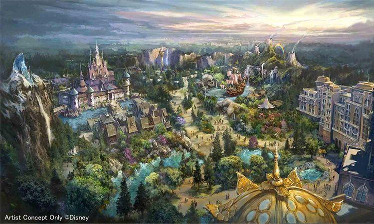 เก็บตังรอ Tokyo DisneySea เตรียมเปิดโซนใหม่ใหญ่กว่าเดิมในปี 2022