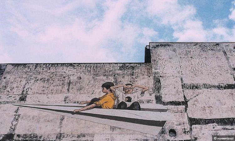 เก็บให้ครบ! Mural Art 8 จุดสุดชิค รอบเมืองอิโปห์