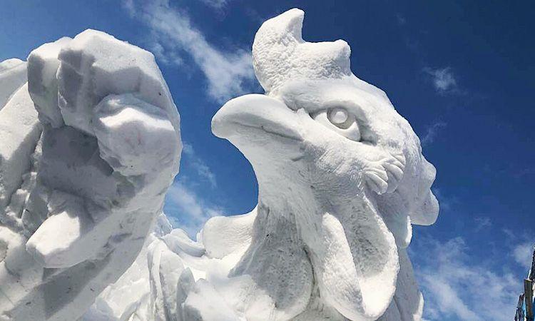 เจ๋งจริง! ทีมไทยคว้าแชมป์แกะสลักหิมะในเทศกาลหิมะซัปโปโร 7 ปีซ้อน