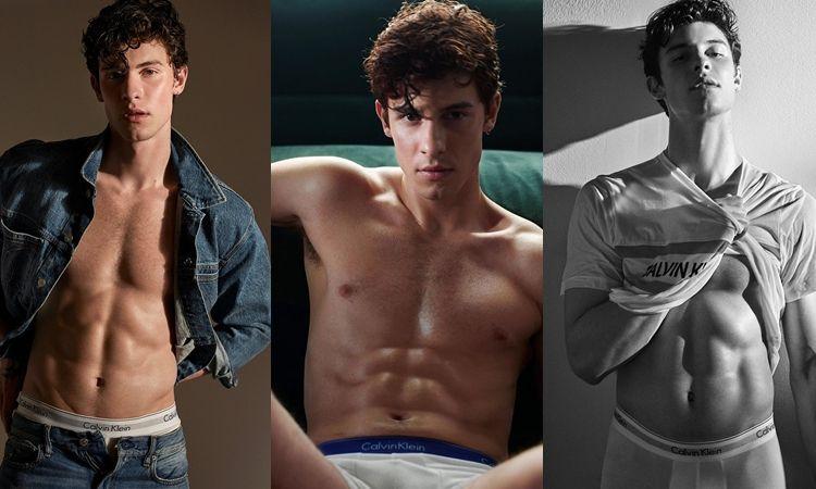 ใครไหวไปก่อนเลย 'Shawn Mendes' กับ 'Calvin Klein' ฮอตปรอทแตก