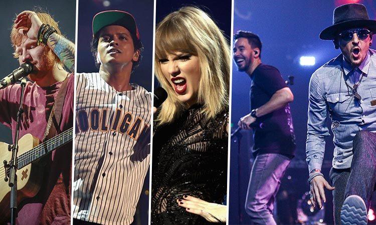 เผยรายชื่อ 10 ศิลปิน ที่ทำยอดขายทั่วโลกได้มากที่สุด ประจำปี 2017