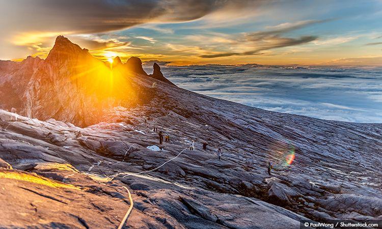 Mount Kinabalu มรดกโลกแห่งแรกของประเทศมาเลเซีย