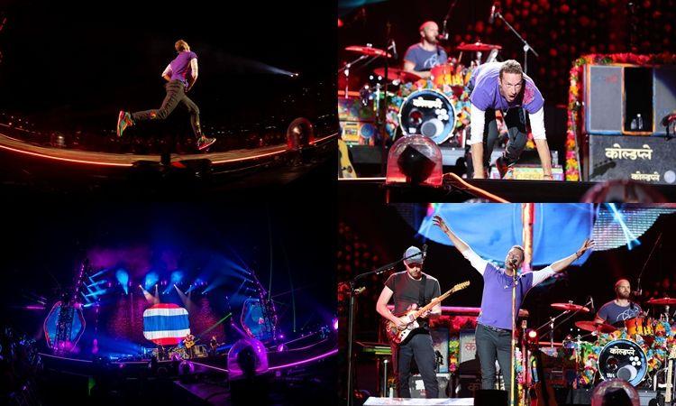 อัมบั้มภาพ สุดยิ่งใหญ่ COLDPLAY A HEAD FULL OF DREAMS TOUR 2017