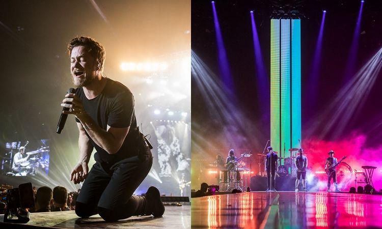 ประมวลภาพ เต็มอิ่ม  Imagine Dragons Evolve World Tour Live in Bangkok 2018