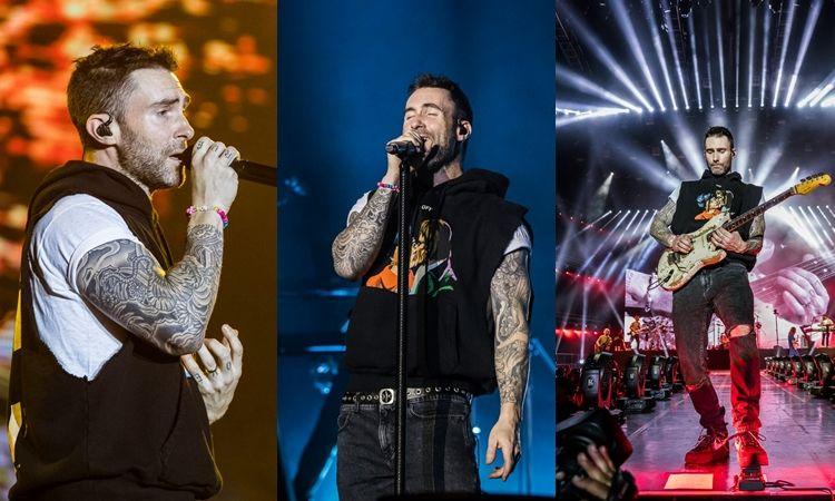 ประมวลภาพ คอนเสิร์ต Maroon 5 Red Pill Blues World Tour 2018