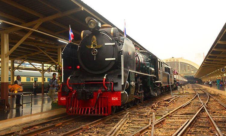 รฟท. ชวนแต่งชุดไทย นั่งรถไฟไอน้ำ เที่ยวชมประวัติศาสตร์ เส้นทางกรุงเทพ-อยุธยา