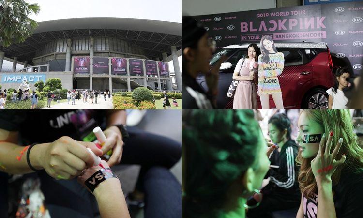 ประมวลภาพ บรรยากาศแฟนคลับชม BLACKPINK 2019 WORLD TOUR BANGKOK : ENCORE