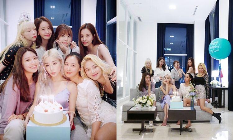 น่ารักมาก! Girls' Generation  รวมตัวฉลองวันเกิดทิฟฟานี่ #GG4EVA