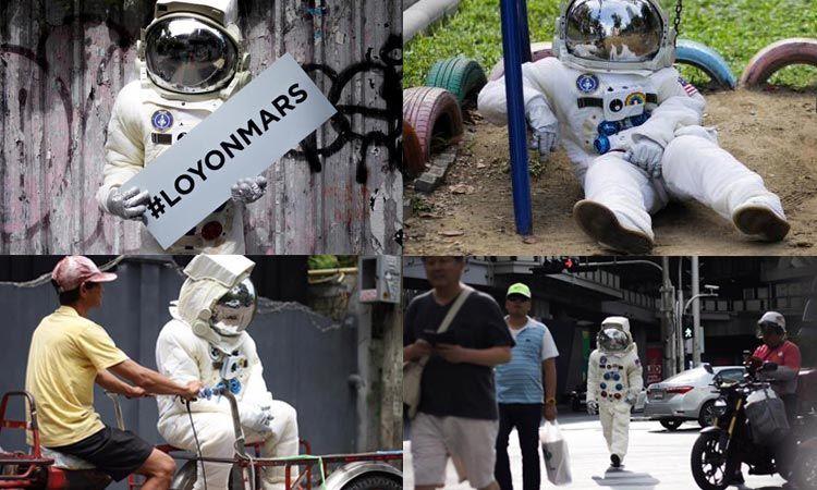 เฉลยแล้ว! ว่าทำไม The TOYS ถึงใส่ชุดมนุษย์อวกาศเดินรอบกรุงเทพ!