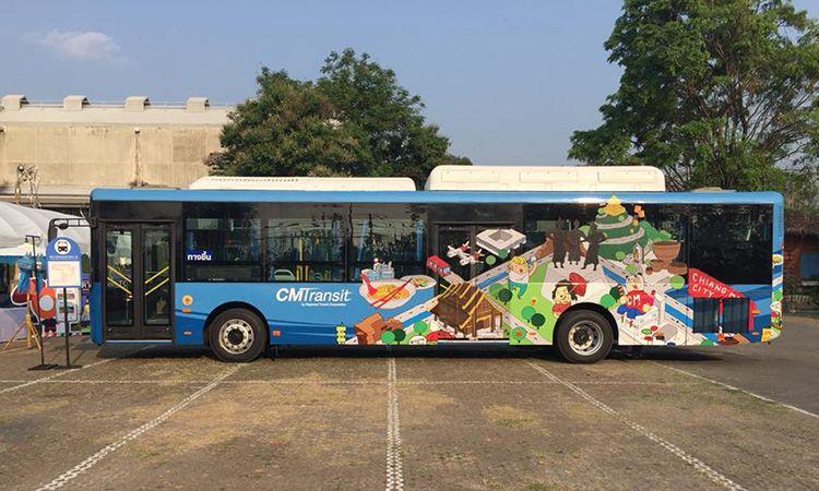 ทางเลือกใหม่! RTC Chiangmai Smart Bus สนามบิน-คูเมือง-นิมมานเหมินทร์ 20 บาท ตลอดสาย