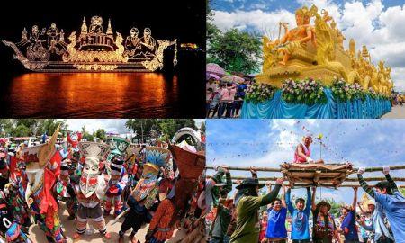 7 เทศกาลภาคอีสานสุดอลังการ สวยงามทั้งขบวนแห่และบรรยากาศ